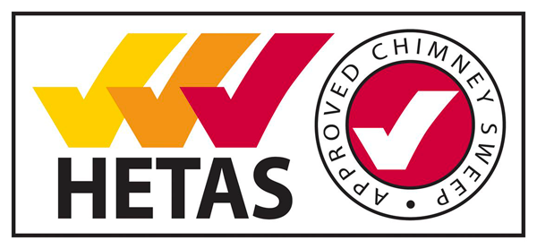 hetas approved chimney sweep logo