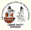 national association chimney sweeps ladder safety approved